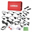 Launch X431 V+ Diagnosti Tool and HD Heavy Duty Truck Diagnostic Module Supports Trucks & Cars