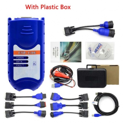 Best Quality NEXIQ 125032 USB Link Truck Diagnostic Tool with All Adapters