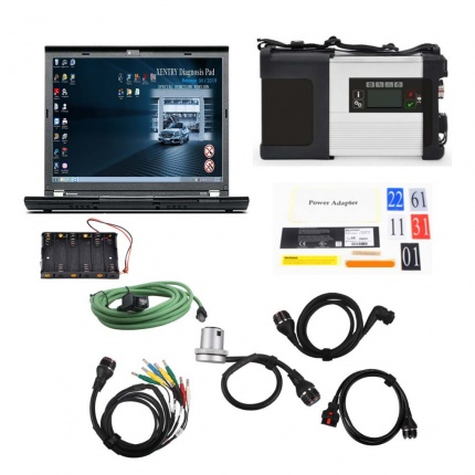 MB SD Connect C5 Star Diagnosis Plus Lenovo X230 Laptop With Vediamo and DTS for V2019.12