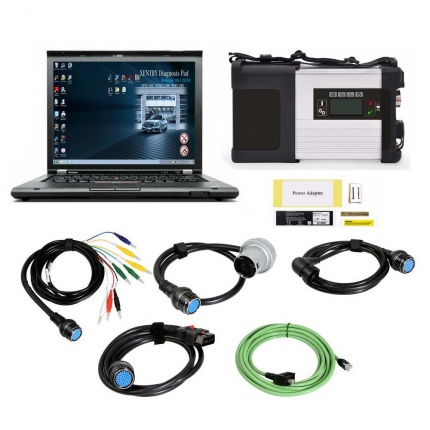 C5 MB SD Connect C5 Star Diagnosis Plus Lenovo T430 Laptop With Engineering Software V2019.12