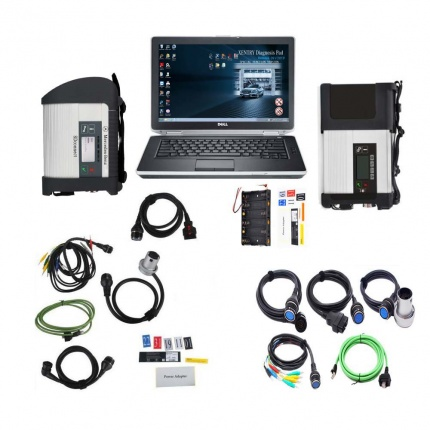 V2019.12 MB SD Connect C4/C5 Star Diagnosis Plus DELL E6430 Laptop With Engineering Software