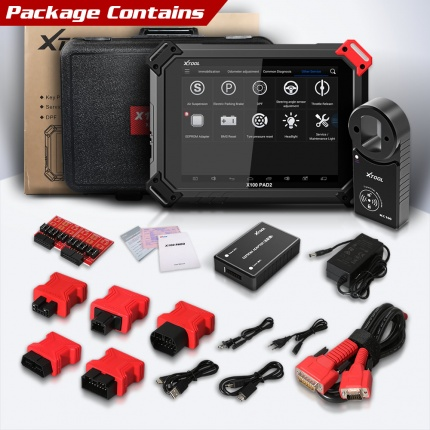 XTOOL X-100 X100 PAD2 Pro Diagnostic Tool key programmer Full Version with VW 4th/5th Immobilizer and Odometer adjustmen
