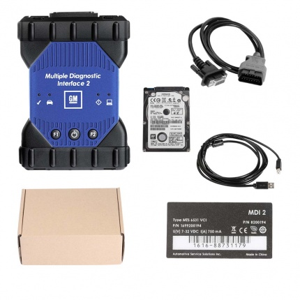 Best quality GM MDI 2 Diagnostic Tool Multiple Diagnostic Interface with WIFI V2019.07