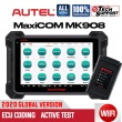 Autel MaxiCOM MK908 Maxisys 908 Automotive Diagnostic Scan Tool Full System OBD2 Scanner with ECU Coding Key Coding