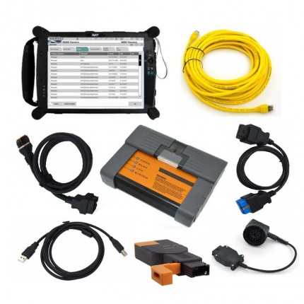 BMW ICOM A2 With V2020.08 Engineers software Plus EVG7 Tablet PC Ready to Use