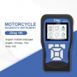 JDiag M100 Motorcycle Diagnostic Tool Moto Scanner 12V Battery Tester Intelligent Dual System