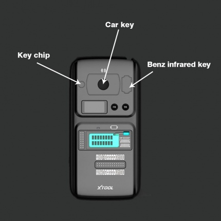 XTOOL KC501 Car Key and Chip Programmer Work with Xtool X100 PAD3
