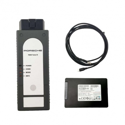 Porsche Piwis 3 Tester III Diagnostic Tool With V39.900 Software support Porsche cars from 1996 to 2020