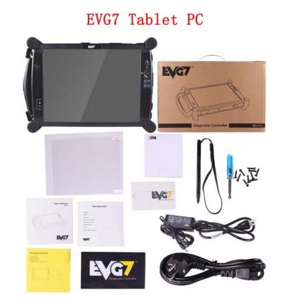 EVG7 Tablet for Porsche Piwis Tester II Tester 2 V18.150 porsche diagnostic tool