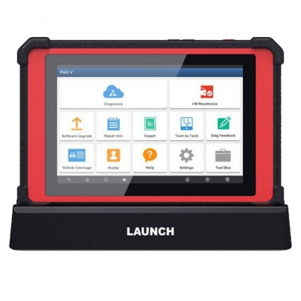 Professional Diagnostic Tools Launch X431 PAD V PAD5 Full System Support Online Coding and Programming