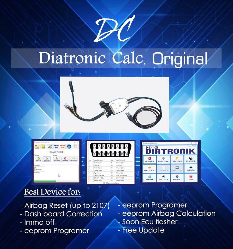 US$1,295 00 - Hot Sale Diatronik SRS+DASH+CALC+EPS OBD Tool