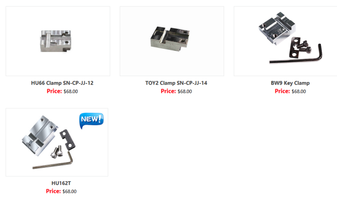 US$2,192 00 - Hot Sale SEC-E9 CNC Automated Key Cutting
