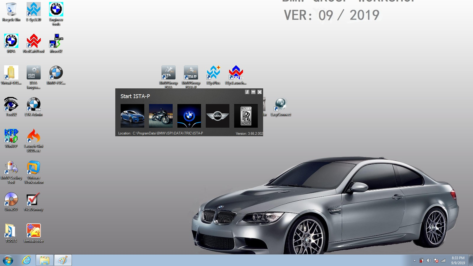 bmw icom software